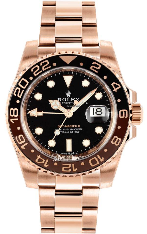 0dc23c02b2c Rolex GMT-Master II Ouro rosa - Todos os preços de relógios Rolex  GMT-Master II Ouro rosa na Chrono24