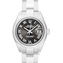 Rolex Lady-Datejust White gold Grey United States of America, California, San Mateo