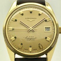 Longines Conquest Yellow gold 36mm Gold No numerals United States of America, Florida, Miami