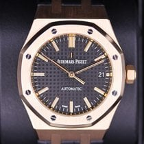 Audemars Piguet 15450OR.OO.D002CR.01 Roségold Royal Oak Selfwinding 37mm gebraucht