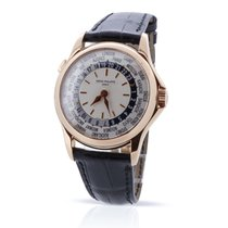 Patek Philippe World Time Rose gold 37mm Silver United Kingdom, London