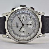 Tissot Chronograph 39,5mm Automatik 2016 gebraucht Heritage (Submodel) Silber