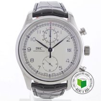 IWC Portuguese Chronograph pre-owned 42mm Steel