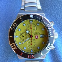 Swiss Military Steel 48mm Automatic S2519 new