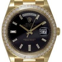 Rolex Day-Date 40 Oro giallo 40mm Nero
