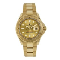 Rolex Yacht-Master 40 Yellow gold 40mm Gold No numerals
