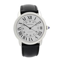 Cartier Ronde Solo WSRN0022 / 3802 Mens Watch Box Papers
