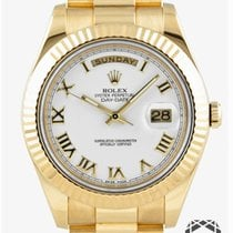 Rolex Day-Date II Yellow gold 41mm Roman numerals United States of America, New York, NEW YORK