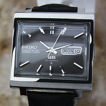 Seiko 5 Steel 34mm Black United States of America, California, Beverly Hills
