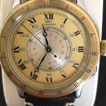 Longines Lindbergh Hour Angle 628.5240 Хорошее Золото/Cталь 38mm Автоподзавод