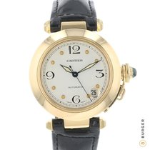 Cartier Pasha C Yellow gold 35mm White Arabic numerals