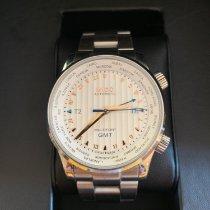 美度 Multifort GMT 钢 42mm 银色