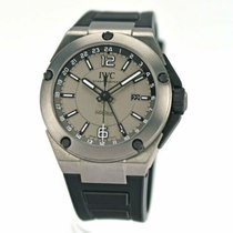 IWC Ingenieur Dual Time Titan 45mm Grau Arabisch