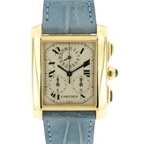 Cartier 1830 Yellow gold Tank Française 29mm pre-owned