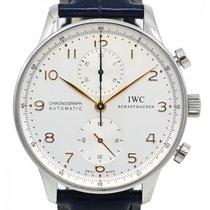 IWC Portuguese Chronograph Acier 41mm Blanc Arabes France, Lyon