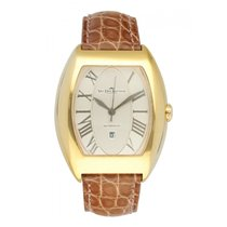 Van Der Bauwede Yellow gold 34mm Automatic pre-owned