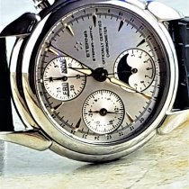 Eterna 1948 Steel 39mm Silver No numerals