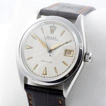 Rolex Oysterdate Edelstahl Herrenuhr VINTAGE Service 07/17