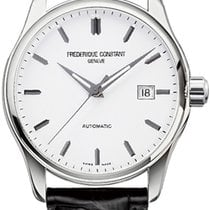 Frederique Constant Classics Index Steel White United States of America, New York, Brooklyn