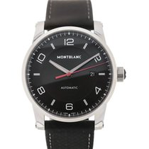Montblanc Steel 41mm Automatic 113877 new
