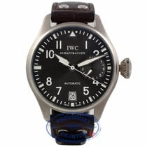 IWC Big Pilot 7 Day Power Reserve White Gold Slate Dial