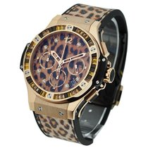 Hublot 341.PX.7610.NR.1976 Big Bang 41mm Gold Leopard - Rose...