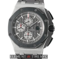 Audemars Piguet Titanium Automatic Grey 44mm new Royal Oak Offshore Chronograph