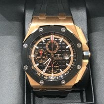 Audemars Piguet 26401RO.OO.A002CA.02 Or rose 2018 Royal Oak Offshore Chronograph 44mm occasion