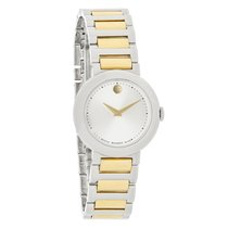 Movado Concerto Mini Ladies Two Tone Swiss Quartz Watch 0606703