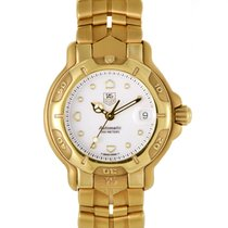 TAG Heuer Women's 18K Yellow Gold Quartz Watch DIA003220 WH23
