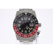 Zeno-Watch Basel Airplane Diver GMT Automatic NEW