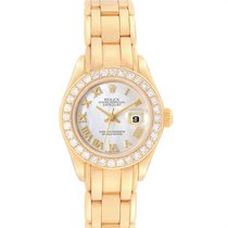 Rolex Lady-Datejust Pearlmaster Yellow gold 29mm Mother of pearl Roman numerals United States of America, Georgia, Atlanta