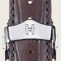 Hirsch Parts/Accessories Men's watch/Unisex 201411117414 new Leather Brown
