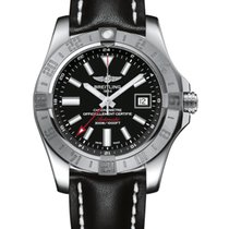 Breitling Avenger II GMT new Automatic Watch with original box and original papers A3239011-BC35-435X BREITLING AVENGER GMT Automatic Black