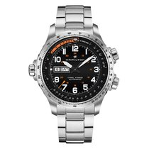 Hamilton Khaki X-Wind Steel 45mm Black