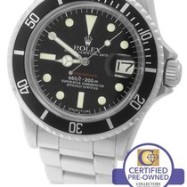 Rolex RARE 1975 Rolex RED Submariner Date 1680 Matte Mark MK...
