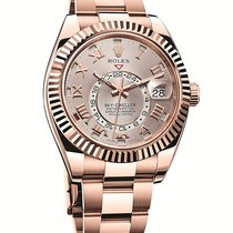 Rolex Sky-Dweller 42mm Oyster Perpetual 18k Rose Gold 326935