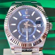 Rolex Sky-Dweller Ref. 326934  2018 unworn box papers  blue dial