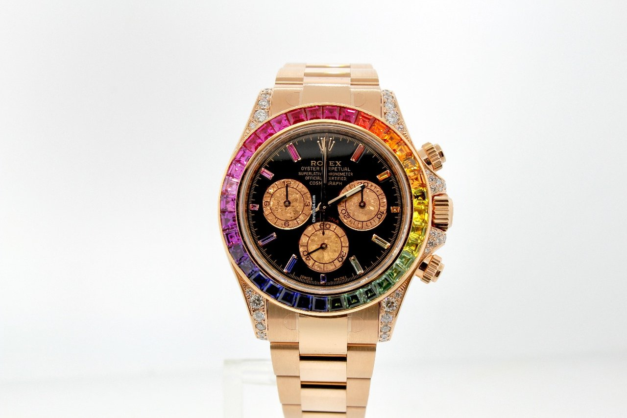 16db935a51e Buy affordable Rolex Rainbow watches on Chrono24