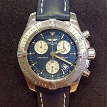 Breitling Colt Chronograph A73380 Blue Dial - B&P 2007