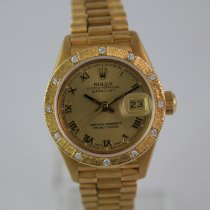 Rolex Lady-Datejust LC100 Diamond 69288 #1025 18k  Box, Papiere