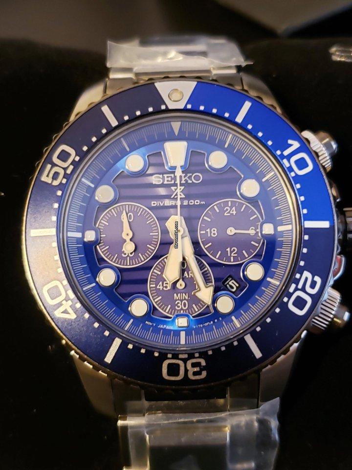 Seiko Solar Chronograph the Ocean Prospex SSC675P1  7e5a78f57c