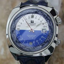 Tissot Chronograph 42mm Automatic 1970 pre-owned Blue
