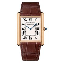 Cartier Tank Louis Cartier новые Механические Часы с оригинальными документами и коробкой W1560017