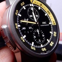 IWC Aquatimer Chronograph Titan 44mm Negru