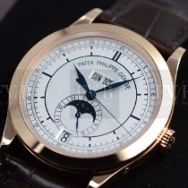 Patek Philippe Annual Calendar Rose gold 38mm Silver No numerals United States of America, Texas, Houston