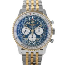 Breitling Navitimer Cosmonaute Gold/Steel 41.5mm Blue Arabic numerals United States of America, Maryland, Baltimore, MD