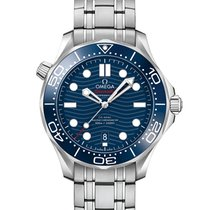 Omega Seamaster Diver 300 M Steel 42mm Blue No numerals United States of America, New York, New York