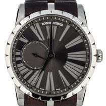 Roger Dubuis Steel Automatic Grey 42mm pre-owned Excalibur