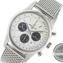 Breitling Transocean Chronograph Steel 43mm Silver No numerals United States of America, Pennsylvania, Willow Grove